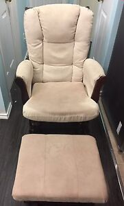 Rocking chair and foot ottoman / stool