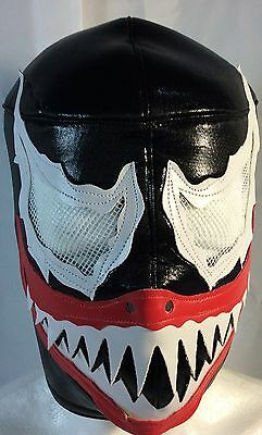 - THE VENOM!!! WRESTLING-LUCHADOR MASK!! AWESOME!! GREAT, UNIQUE DESIGN! HANDMADE!