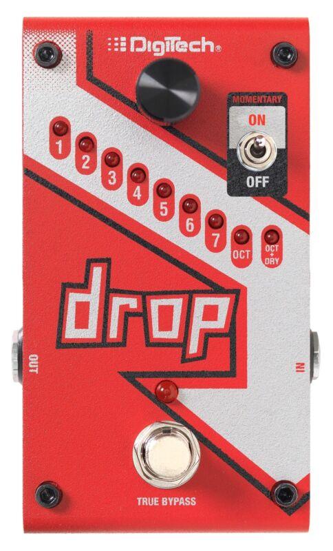 DigiTech Drop Dedicated Polyphonic Drop Tune Guitar Effects Pedal!