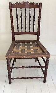 Lovely Old Carved Wooden Chair Port Macquarie Port Macquarie City Preview