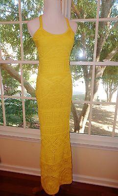 NWT Emilio Pucci Crochet Knit Maxi Dress L