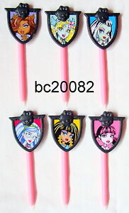 NINTENDO DS LITE/ DSI /DSI XL  3 MONSTER HIGH CHARACTER  STYLUS PENS,BRAND NEW