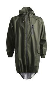 RAINS Fishtail Parka (black), men's small