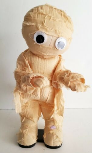 "Gemmy MUMMY Dancing Animated THRILLER Michael Jackson Musical 13"" Plush Figure"