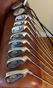 Golf clubs for sale 3- PW with 3 wood  / Driver and Putter