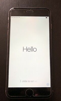 Apple iPhone 6 Plus silver 16gb (carrier locked) excellent condition - as is