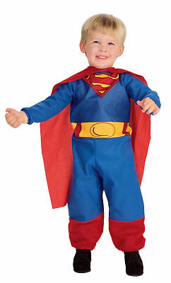 Superman Child Costume Toddler Super Hero Jumpsuit And Cape For All - Superman Costume For Toddler Boy