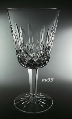 "WATERFORD CRYSTAL LISMORE WATER GOBLETS  6 7/8"" - EXCELLENT"