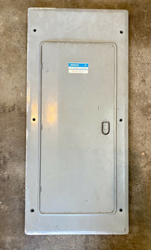 Gould ITE Pushmatic Service Panel Front Cover Door 150 Amp