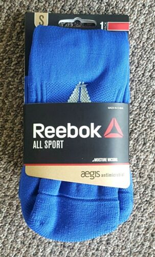NEW! Reebok Youth (Small) All Sport Athletic Socks in Royal Blue (Fits Size13-4)