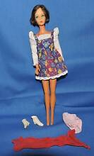 Vintage barbie with some items. included japan mattel. brunette b Port Macquarie 2444 Port Macquarie City Preview