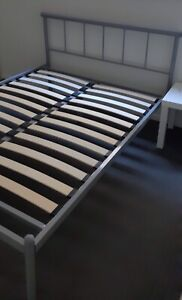 Double Bed Silver