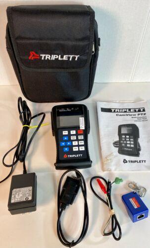 "Triplett 8000 CamView PTZ Multi-Function Test Tool 2.7"" Monitor CCTV Security"