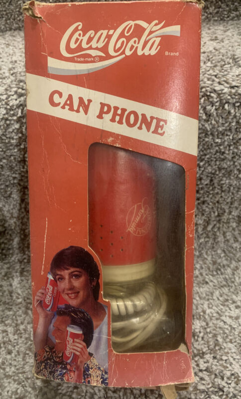 Coca-Cola Can Phone 1994 Model AW-5011 W/ Original Box