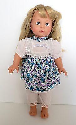 "Gotz Pottery Barn Kids 18"" Doll Blonde With Blue Sleepy Eyes"