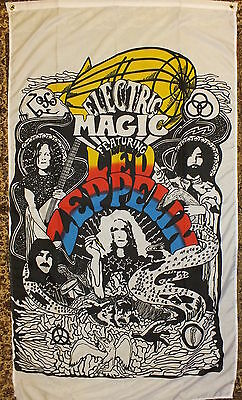 Led Zeppelin Flag Heavy Metal 60s/70s Psychadelic Jimmy Paige Robert Plant bnip