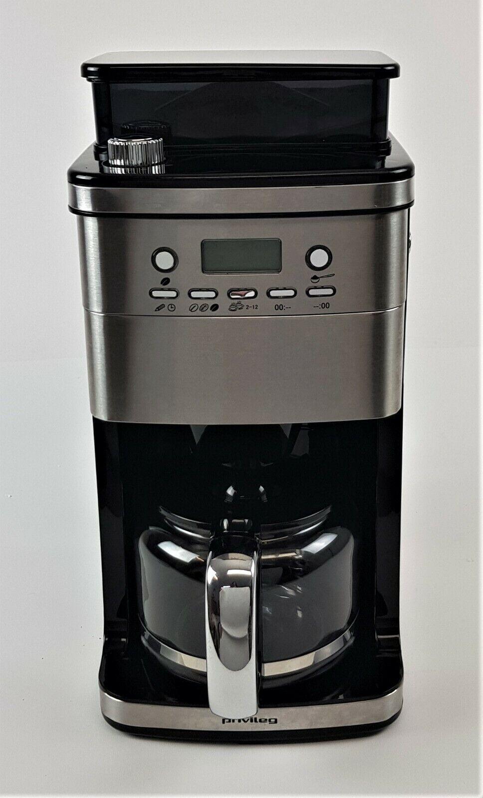 Kaffeevollautomaten Kaffeemaschine mit Mahlwerk Privileg CM4266-A, Gebraucht