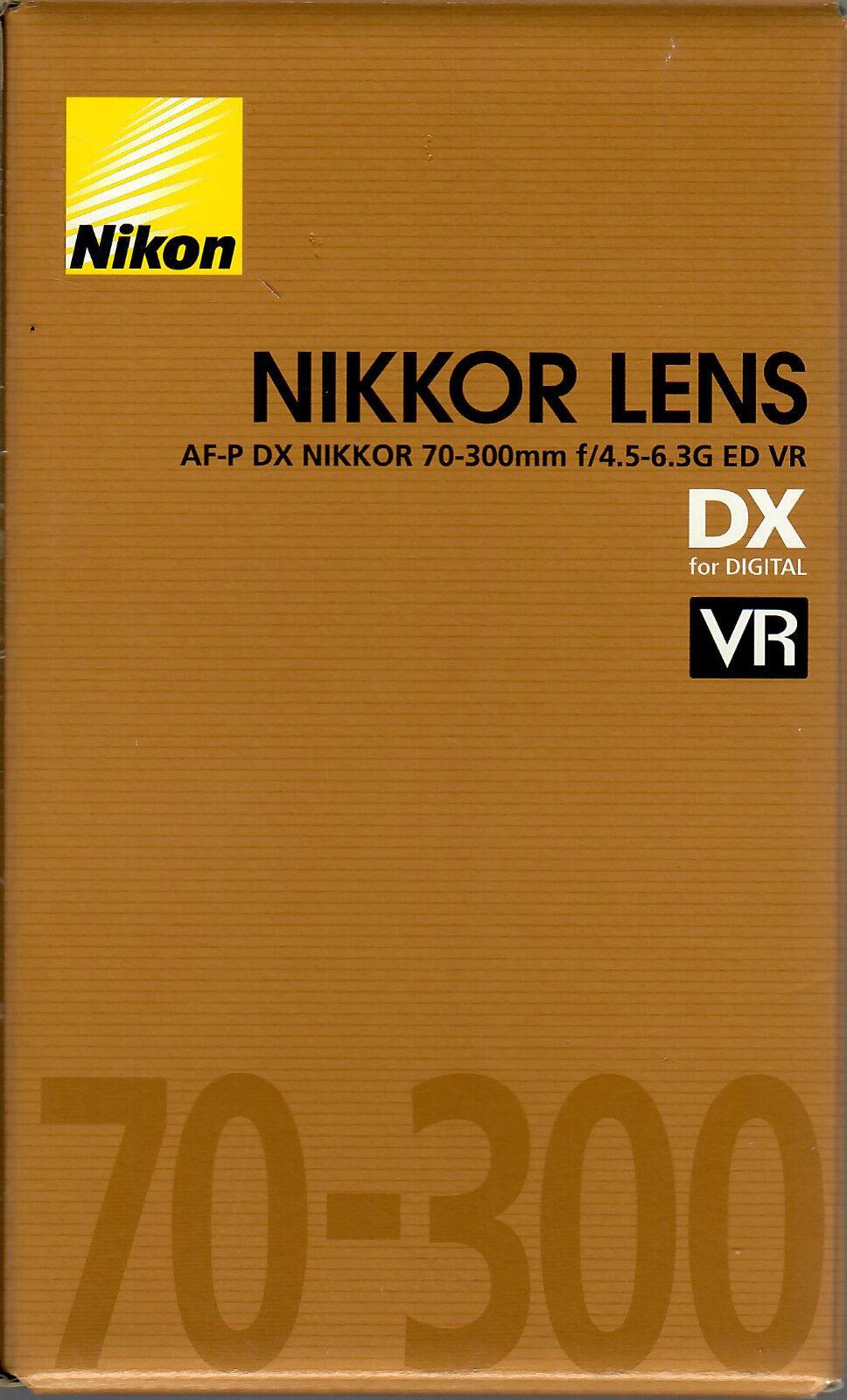 Nikon Objektiv AF-P DX 70-300 mm F/4.5-6.3 G ED VR