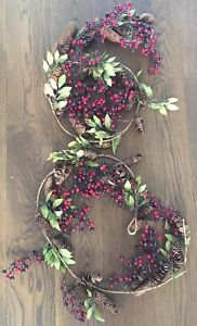 Christmas garland - Two 6' lengths