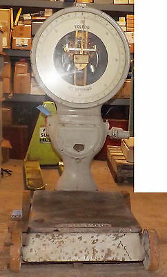 1 Used Toledo 801-t Industrial Scale Make Offer