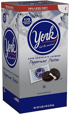 York Peppermint Patties  Dark Chocolate Covered Mint Candy 175 Ea