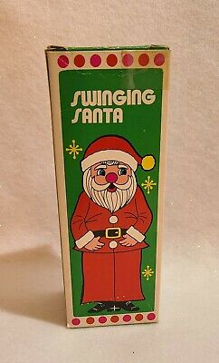 Vintage Adult Novelty Swinging  Santa Claus ~ Risqué, Gag Gift~ Hong Kong