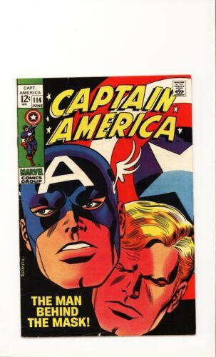 Captain America 114 Fine Romita art