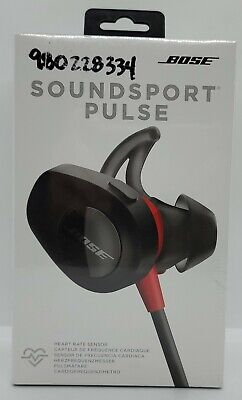 Bose SoundSport Pulse Wireless Bluetooth Headphones - Red & Black