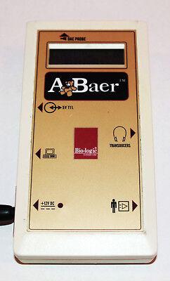 A Baer Bio-logic Audx Oae Probe Otoacoustic Emission Hearing 580-abaer1 Biologic