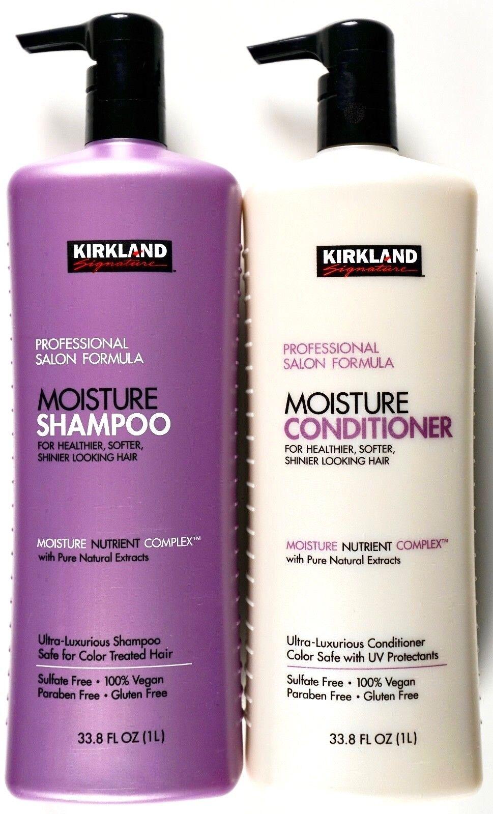 Kirkland Signature Professional Salon Moisture Shampoo or Co