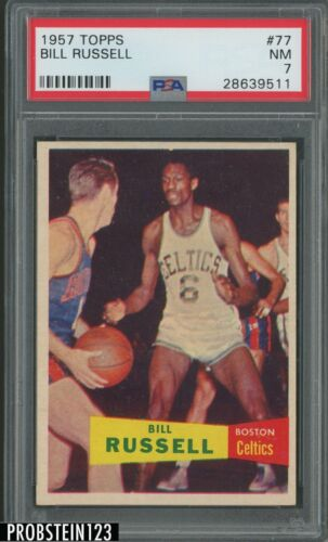 #82 Bill Russell 2009-10 2009 Bowman 48 Basketball Card
