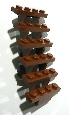 1 x LEGO® 30134 City braune Treppe-Leiter in 7x4x6