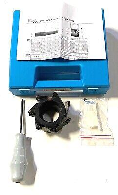 Valenite 4 Indexable Face Mill V5000 Series Val Mill V 500 A 16 0400 K 07r