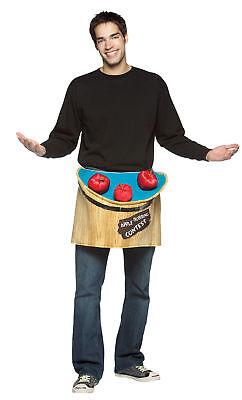 Bobbing For Apples Adult Costume Waist Halloween Dress Up Rasta Imposta