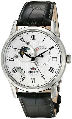 Orient Classic Automatic Stainless Steel & Leather Men's Watch FET0T002S0