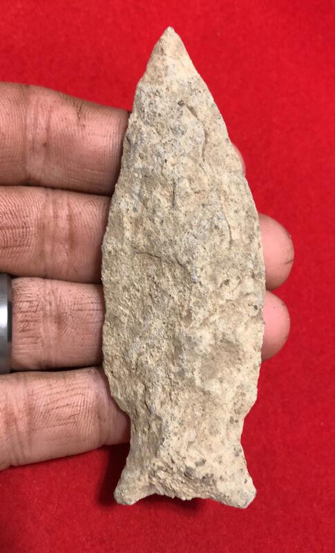 "QUALITY 4"" ARGILLITE HOOVERS IS-PA Indian Artifact-NY NJ Arrowhead- H KUNKLE"