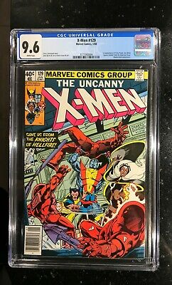X-MEN #129 CGC 9.6 - 1ST KITTY PRYDE & EMMA FROST - NEWSSTAND - WHITE PAGES