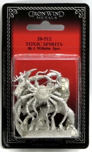 Ral Partha 20-512 Toxic Spirits (Shadowrun) Polluted Earth Corrupted Elementals