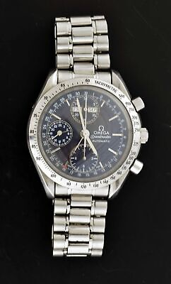 Omega Speedmaster Maison Fondee 39mm Steel Triple Date Automatic Watch 3521.80