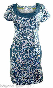 RRP £59 NEW BODEN LADIES SUMMER CASUAL FLORAL TUNIC SHIFT DRESS POCKETS WA354