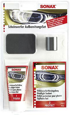 Sonax Scheinwerfer Aufbereitungs Politur #04059410 NEU
