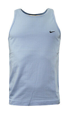 Nike Basketball Mens Blue Vest Crew Sports Training Top Summer 163552 460 A24E