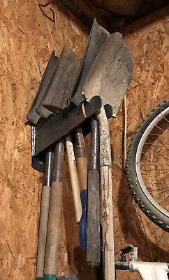 (2 Industrial iron Yard tool hangers for shop or garage etc)