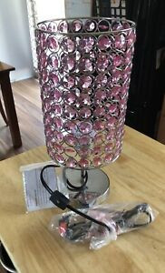 Pink lamp - never used with tags