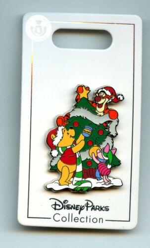 Disney Holiday 2020 Winnie the Pooh Tigger Piglet Christmas Tree Pin