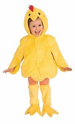 Cute Chicken Bird Halloween Costume Child Animal Plush Fun Fur Hood Small 4-6 - Children's Chicken Costume