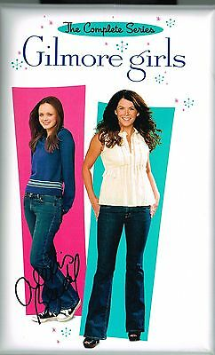 Alexis Bledel Signed Gilmore Girls Season 1 3 4 5 6 7 Box Set Coa