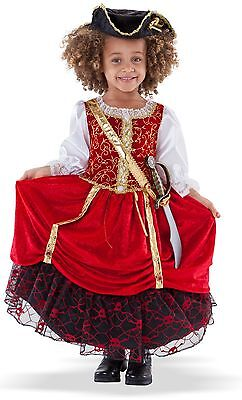 Pirate Princess Costume for Toddler size 3-4 New by Princess Factory](Pirates Costumes For Toddlers)