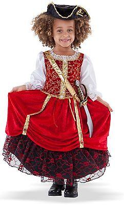 Pirate Princess Costume Toddler (Pirate Princess Costume for Toddler size 3-4 New by Princess)