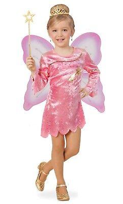 KarnevalsTeufel Kinderkostüm-Set Sternenfee 2. Wahl Kleid und Flügel - Sterne Kind Kostüm